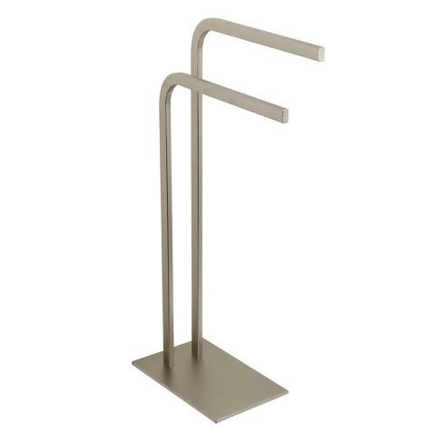 Pedestal Dual Towel Rack - Kingston Brass - image 1 of 4