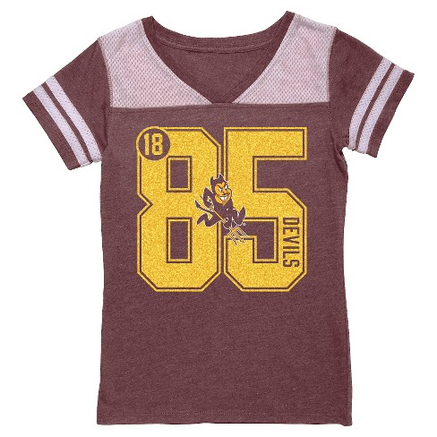 NCAA Arizona State Sun Devils Girls' V-Neck Tunic Shirt - L - image 1 of 1