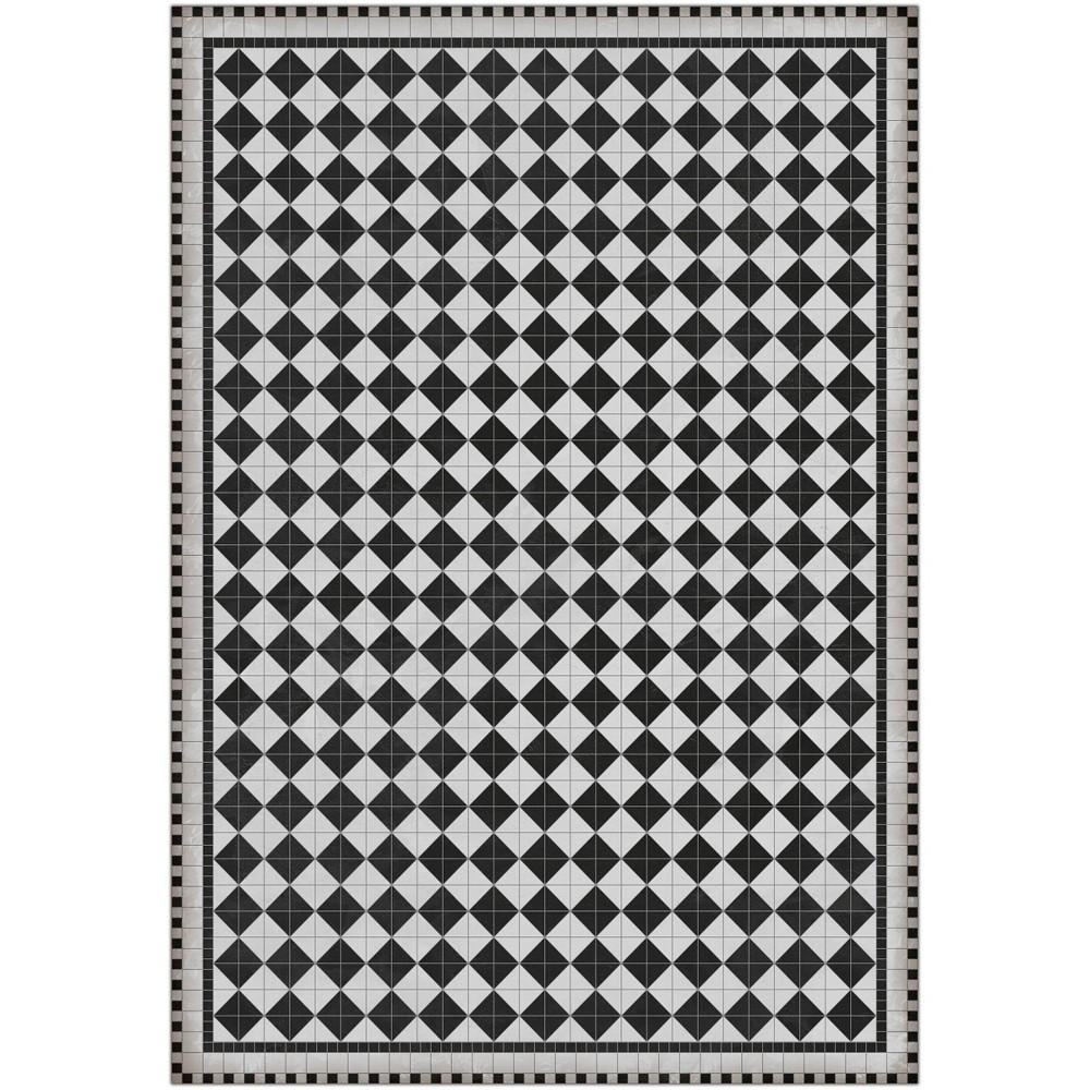 4 5 39 X6 5 39 Rockefeller Vinyl Diamond Mat Black A 38 A Story