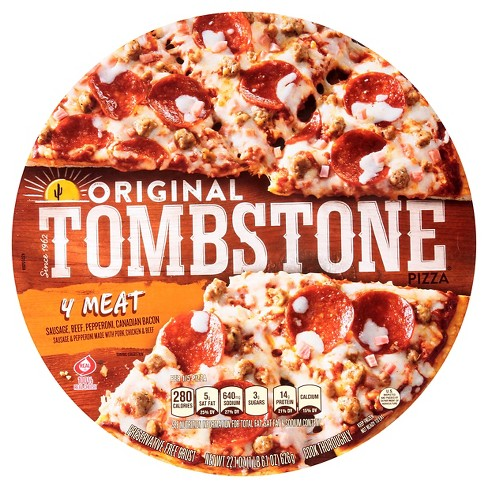 Tombstone Four Meat Frozen Pizza - 21.21oz - image 1 of 2