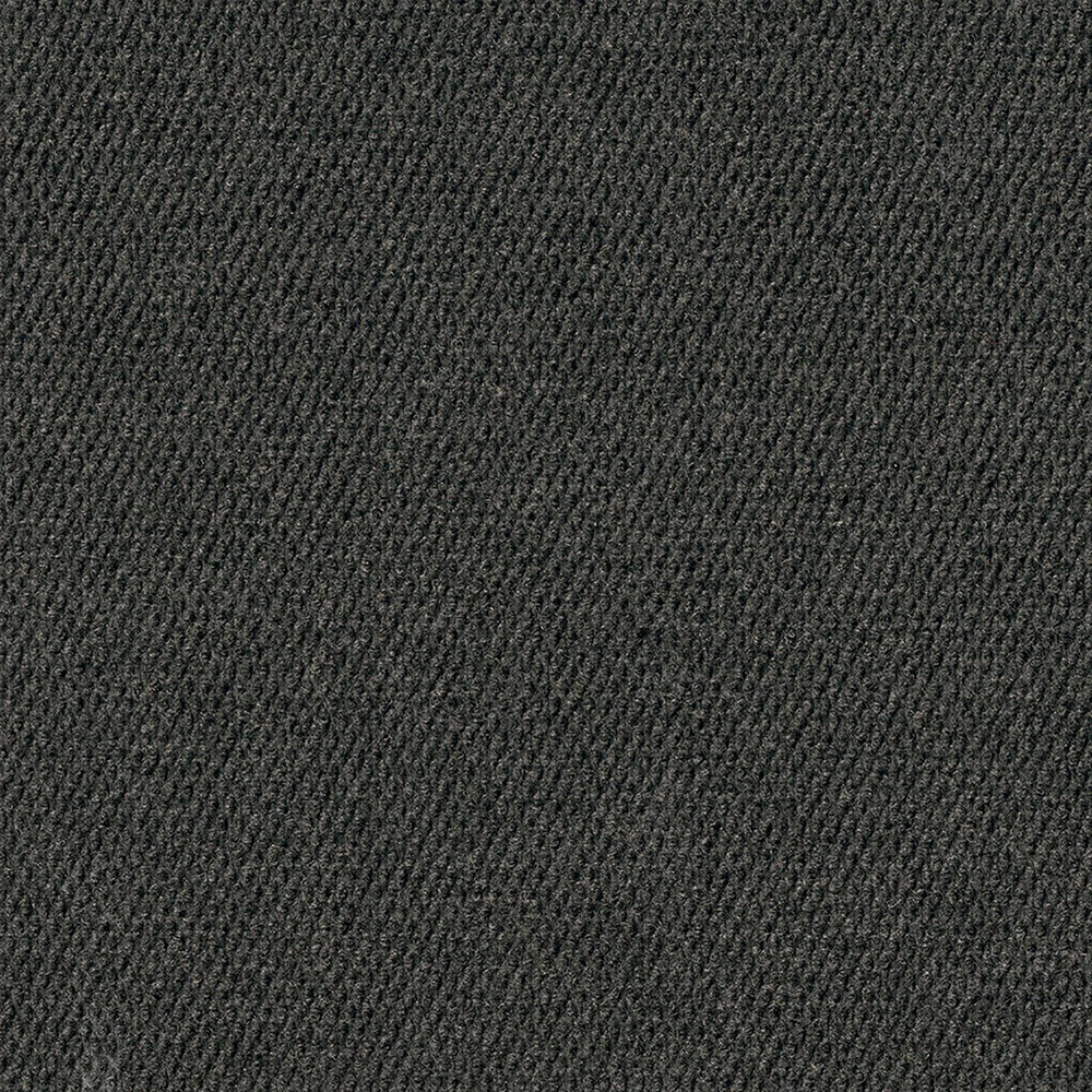 16pk Hobnail Carpet Tiles Black