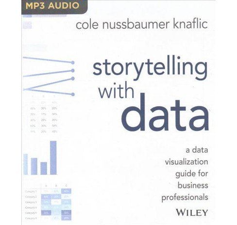 Storytelling With Data : A Data Visualization Guide for Business Professionals -  (MP3-CD) - image 1 of 1