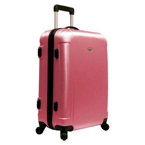 """Traveler's Choice Freedom 25"""" Suitcase - Dusty Rose - image 1 of 3"""