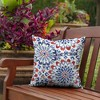 2pk Clark Square Outdoor Throw Pillows - Arden Selections - image 2 of 4