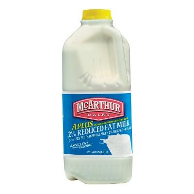 McArthur Dairy 2% Milk - 0.5gal