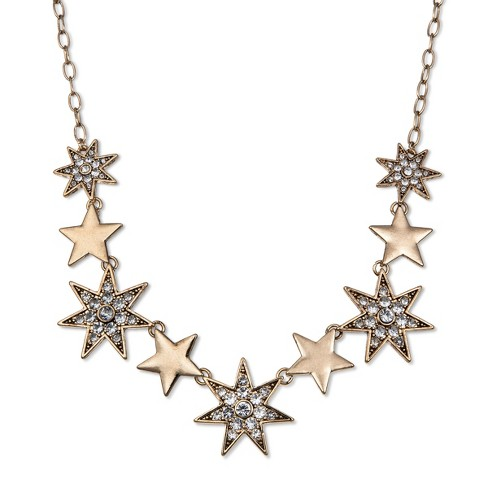 SUGARFIX by BaubleBar Celestial Statement Necklace - Clear - image 1 of 2
