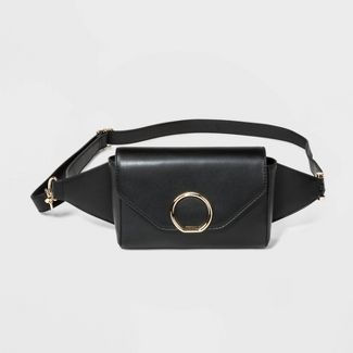 Women's Fanny Pack - A New Day™ Black