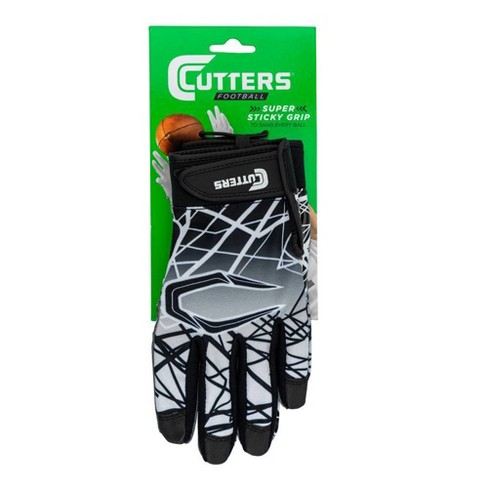 Cutters Game Day Receiver Gloves - Black - image 1 of 4