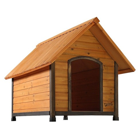 Pet Squeak Arf Frame Dog House - Brown - image 1 of 7