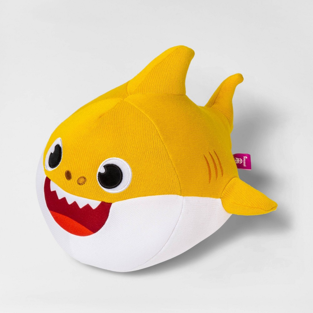 Image of Pinkfong Baby Shark Cute Cozy Ollie Cuddle Pillow