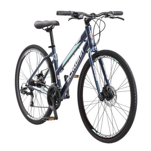 "Schwinn Women's Circuit 700c/28"" Hybrid Bike with Disc Brake - Navy - image 1 of 4"