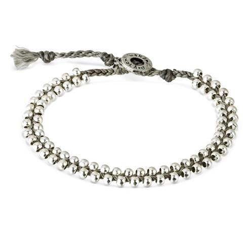 "Women's Wakami Bracelet Single Beaded - Gray (7.5"") - image 1 of 2"