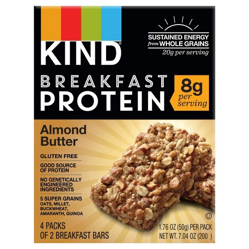 KIND Almond Butter Protein Breakfast Bars - 4pk of 2 Bars - image 1 of 4
