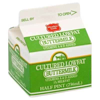 Meadow Gold 1% Buttermilk - 8 fl oz