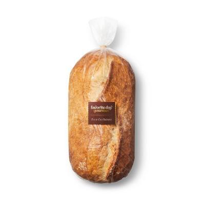 Italian Tuscan Loaf Bread - 28oz - Favorite Day™