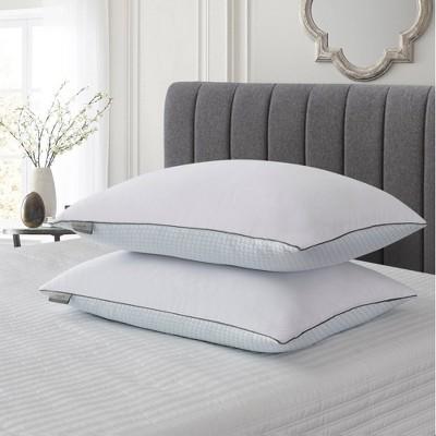 King 2pk Goose Feather Bed Pillow - Scott Living
