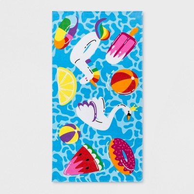 Pool Floaties Beach Towel - Sun Squad™