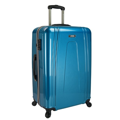 "U.S. Traveler 30"" Hardside Suitcase - Teal - image 1 of 5"