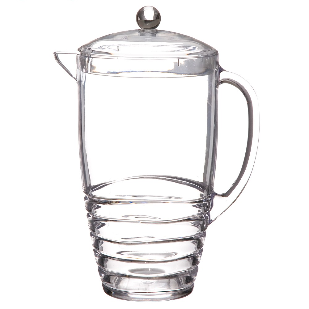 Image of Acrylic Swivel Pitcher - Clear