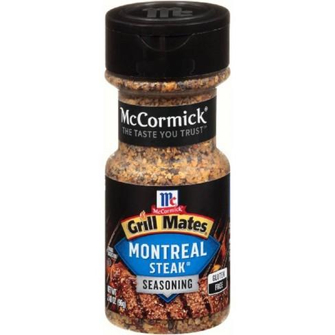 McCormick Grill Mates Montreal Steak Seasoning - 3.4oz - image 1 of 4
