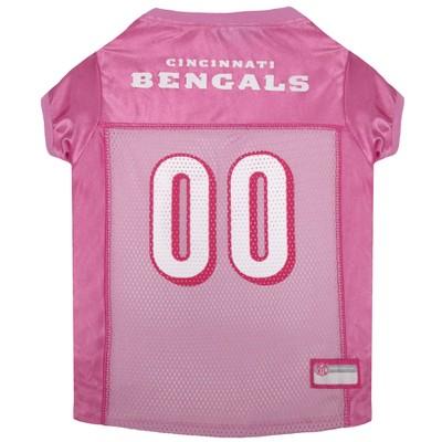 NFL Pets First Pink Pet Football Jersey