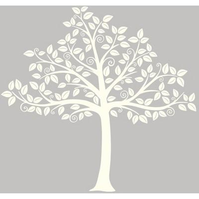 WallPops!® Silhouette Tree Wall Art Kit - Ivory