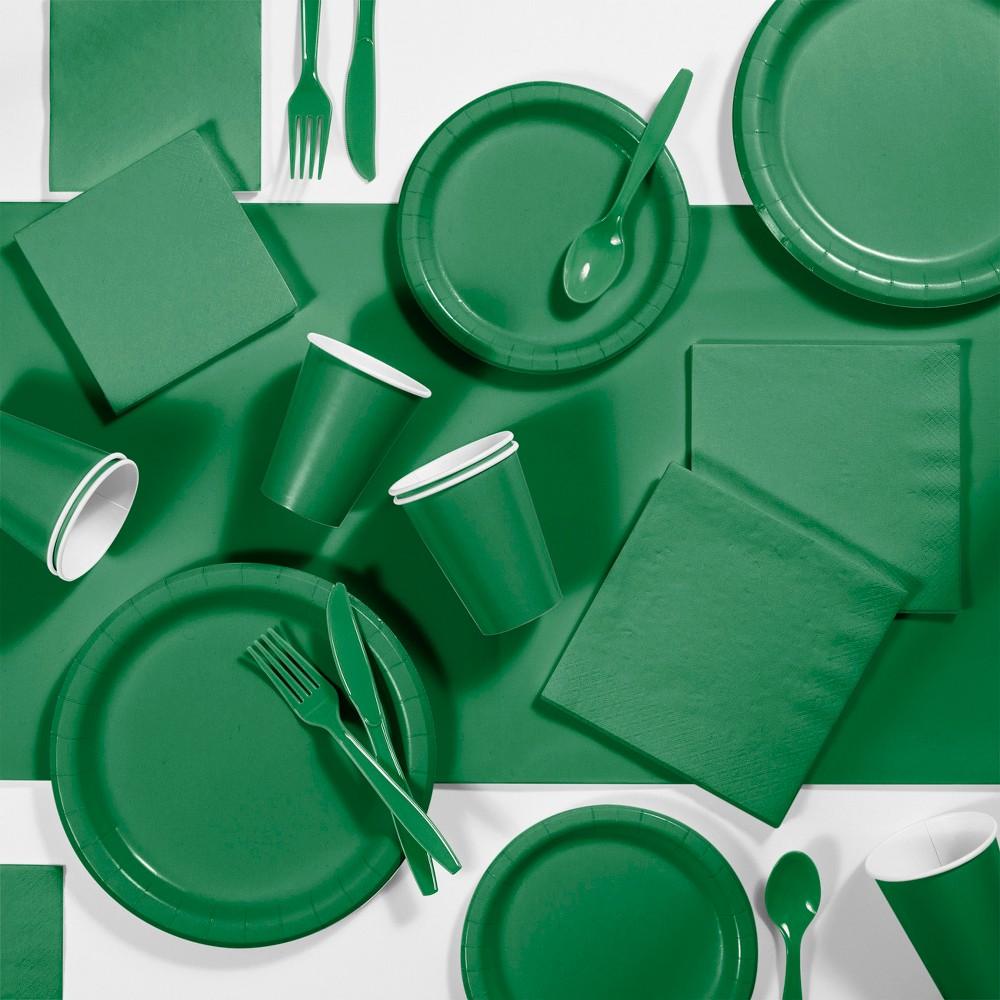 245pk Party Supplies Kit Emerald Green Cheap