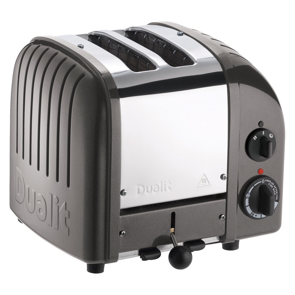 Image of Dualit NewGen 2 Slice Toaster Metallic Charcoal - 20297