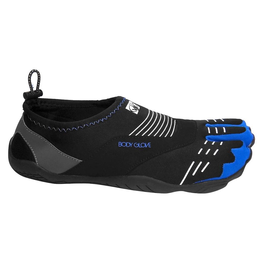 Men's Body Glove 3T Cinch Water Shoes - Black/Blue/White 10, Size: Small, Black Blue White