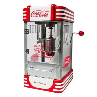 Nostalgia Coca-Cola Kettle Popcorn Maker RKP730CK - Red
