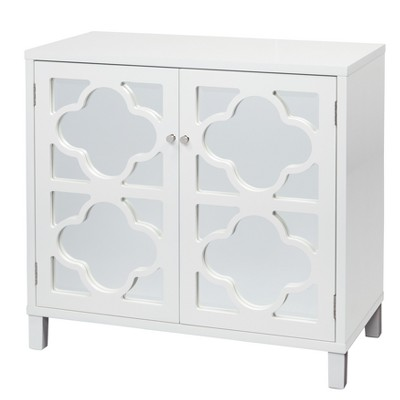 Lifestorey Broadway Mirrored Cabinet White - Lifestorey