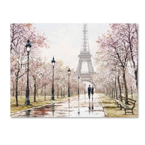 Eiffel Tower Pastel By The Macneil Studio Ready To Hang Canvas Wall Art Target