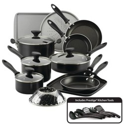 Farberware Reliance 21pc Aluminum Diamond-Reinforced Nonstick Cookware Set