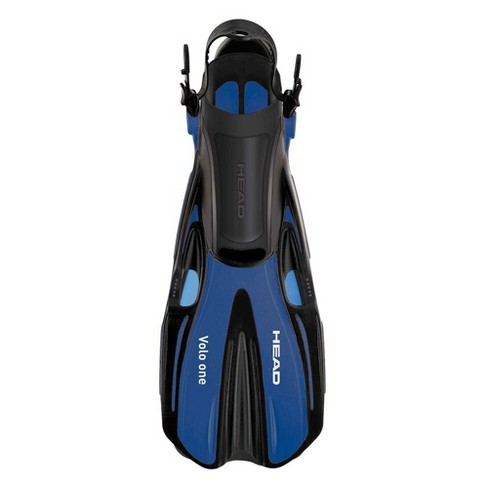 Head Volo One Blue Swimming Snorkeling Diving Scuba Fins w/ Mesh Bag Set, L/XL - image 1 of 2