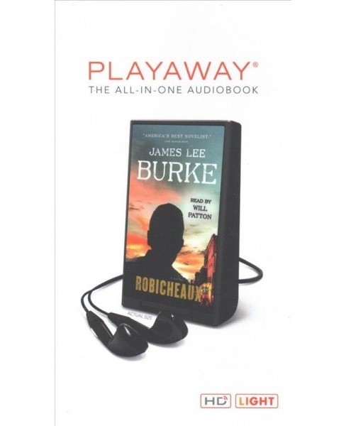 Robicheaux : Library Edition (Unabridged) (Pre-Loaded Audio Player) (James Lee Burke) - image 1 of 1