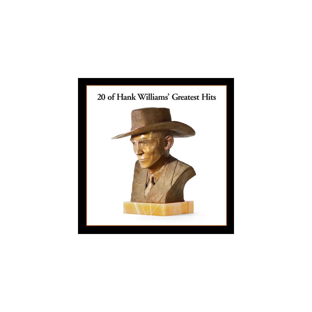 Hank Williams - 20 Greatest Hits (Vinyl)