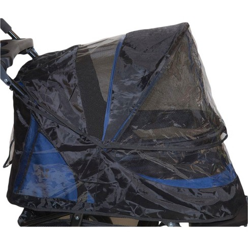 Pet Gear - Weather Cover for No-Zip Jogger Stroller - Dog & Cat - Black - image 1 of 1