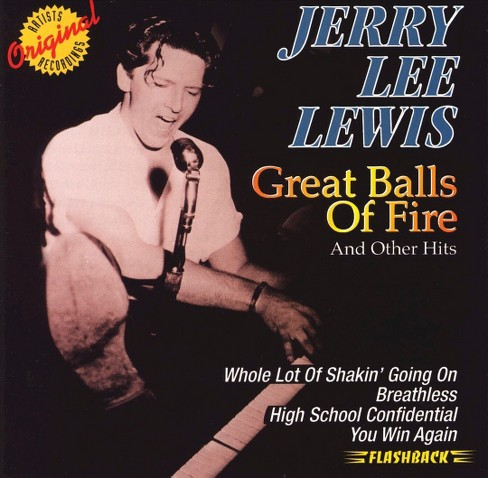 Jerry lee lewis - Great balls of fire and other hits (CD) - image 1 of 1