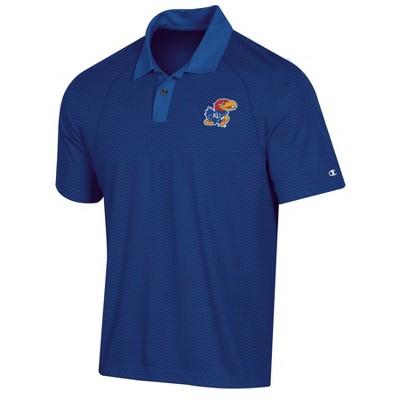 NCAA Kansas Jayhawks Men's Polo Shirt