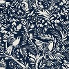 Navy Bird Print Throw Pillow - Skyline Furniture - image 4 of 4