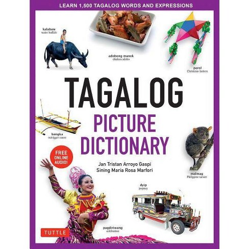 Tagalog Picture Dictionary - (Tuttle Picture Dictionary) (Hardcover) - image 1 of 1