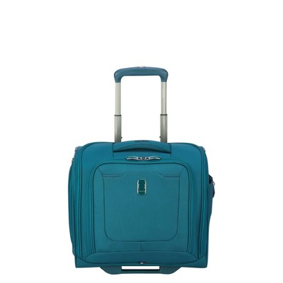 """DELSEY Paris Hyperglide 15"""" 2-Wheel Under-Seater Carry On Suitcase"""