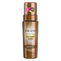 Jergens Natural Glow Instant Sun Moisturizing Lotion - Deep Bronze (6 oz)