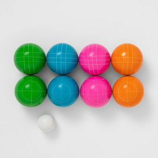 Resin 90mm Bocce Ball with Molded Carrier - Sun Squad™