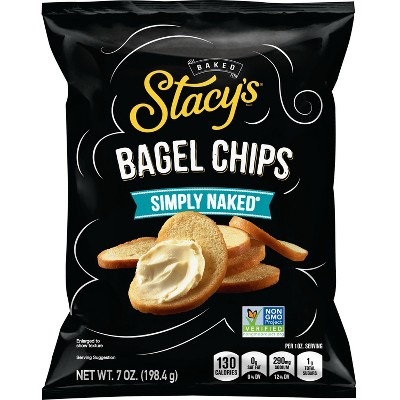 Stacy's Simply Naked Bagel Chips - 7oz