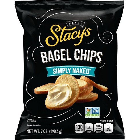 Stacys Simply Naked Bagel Chips, Puffs And Pretzels - 8oz - image 1 of 2