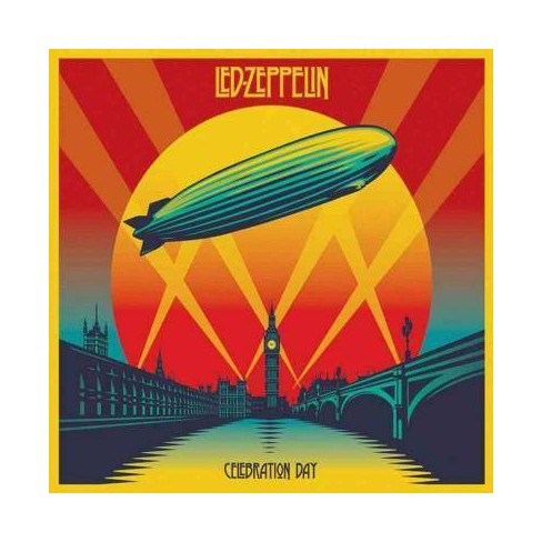 Led Zeppelin - Celebration Day (Deluxe Edition) (2CD+2DVD) (Box) - image 1 of 1