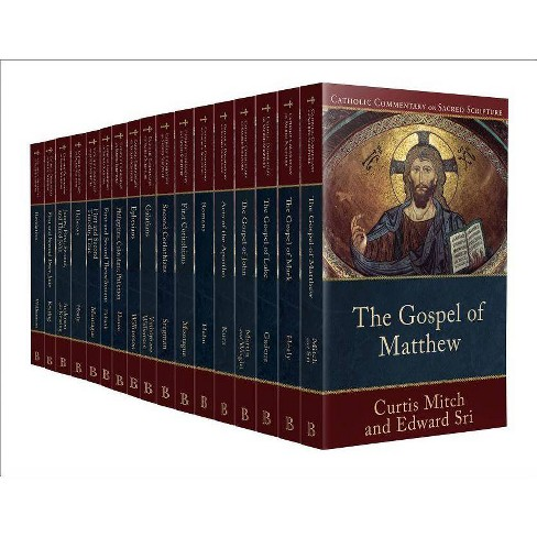 Catholic Commentary on Sacred Scripture New Testament Set - by  Peter S Williamson & Mary Healy (Paperback) - image 1 of 1