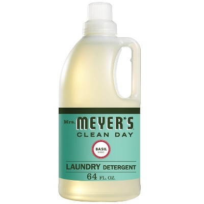 Mrs. Meyer's Basil Scented Laundry Detergent - 64 fl oz