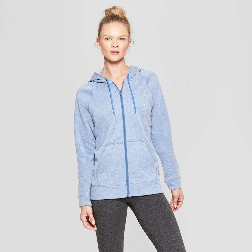 Women's Tech Fleece Full Zip Sweatshirt - C9 Champion Blue Xxl